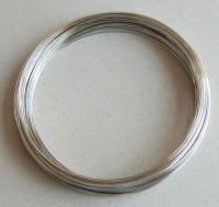 Paměťový drát  - platina, průměr 6 cm, síla drátku 0,6mm, balení 10g,