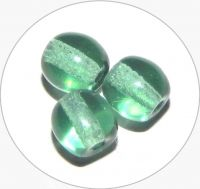 Pressed beads - green, 4mm, packing 60 pcs