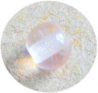 Mačkané korálky - skleněná rosalinová kulička, 4mm, balení po 60 ks