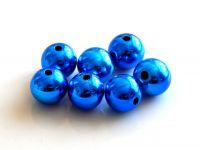 Akrylové perle lesklé 8mm col.C, balení 10 ks