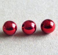 Akrylové perle lesklé 6mm col.G, balení 10 ks