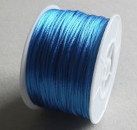 Nylon thread 1mm, length 80m,col.368-sapphire, packing 1 pc