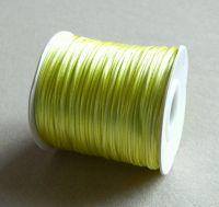 Nylon thread 1mm, length 80m,col.783-light yellow, packing 1 pc