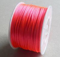 Nylon thread 1mm, length 80m,col.F103-deep pink, packing 1 pc