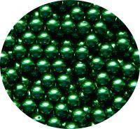 Voskové perle 06mm, tmavě zelená, balení 30 ks