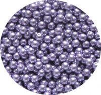 Voskové perle, světle fialové, 7mm, balení 30 ks