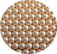 Voskové perle, kulička 10mm, balení 10 ks