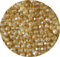 Fire polished beads 02mm, champagne, packing 60 pcs