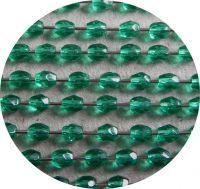 Fire polished beads 03mm, aqua, packing 60 pcs