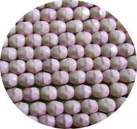 Broušené korálky 05mm, sytý ametyst, balení 30 ks