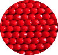 Broušené korálky 05mm, sytý siam, balení 30 ks