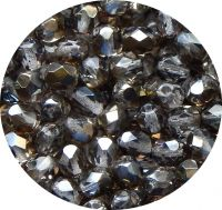 Fire polished beads 06mm, valentinite, packing 30 pcs