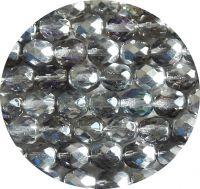 Broušené korálky 08mm, krystal heliotrope, balení 20 ks