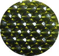 Broušené korálky 08mm, olivín, balení 20 ks