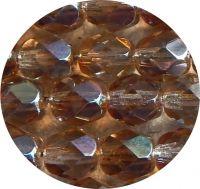 Broušené korálky 16mm, krystal celsian, balení 2 ks