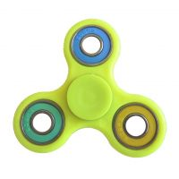 Finger hand spinner, size 75x75mm, neon, packing 1pc