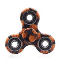 Finger hand spinner, size 40mm, basketball, packing 1pc