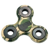 Finger hand spinner, size 40mm, army, packing 1pc