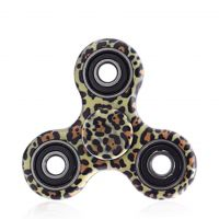 Finger hand spinner, size 40mm, cheetah, packing 1pc