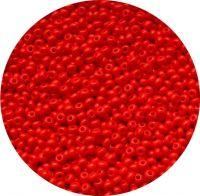 Český rokajl, červený, 11-0 (2,0-2,2mm), balení po 25g
