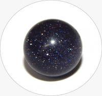 Avanturín-hvězdný prach, tmavě modrý, vel. 6mm, balení po 10 ks