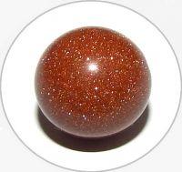 Avanturín-sluneční kámen,hnědý, vel.11,5mm, balení po 5 ks