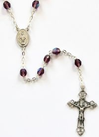 Catholic rosary amy ab 6mm locklink