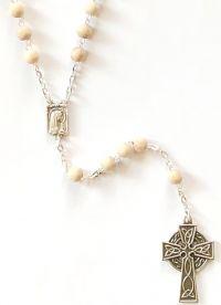 Catholic rosary wooden 6mm